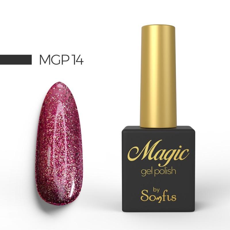Ημιμόνιμο Βερνίκι MGP14 Magic Gel Polish by Somfis 9ml