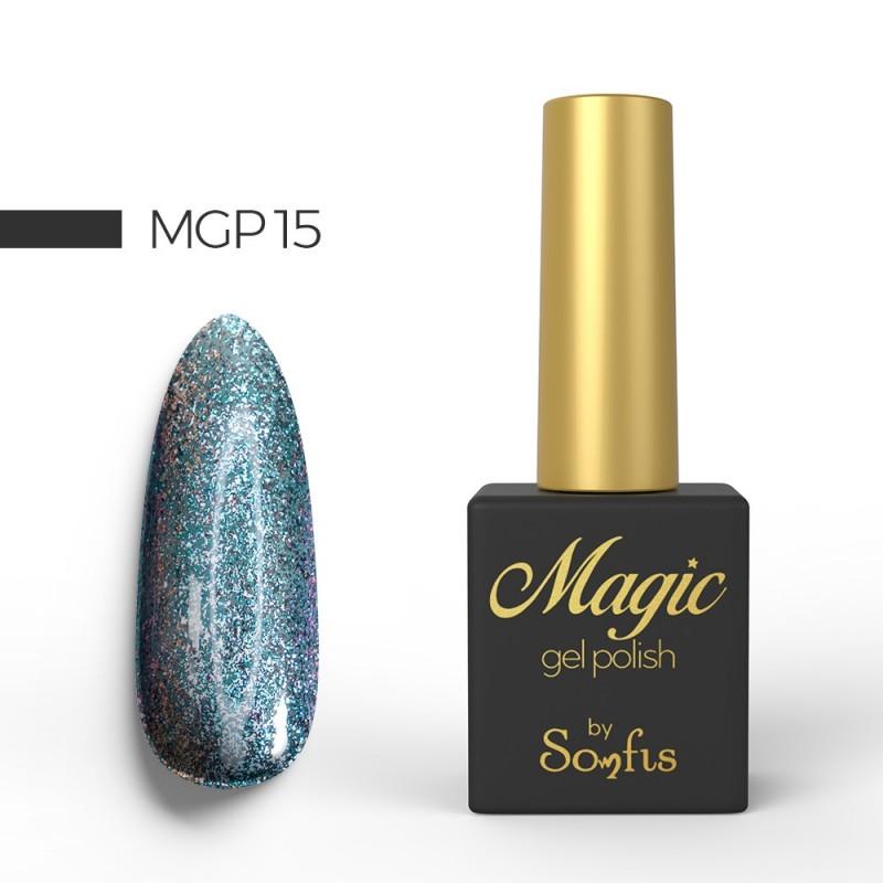 Ημιμόνιμο Βερνίκι MGP15 Magic Gel Polish by Somfis 9ml