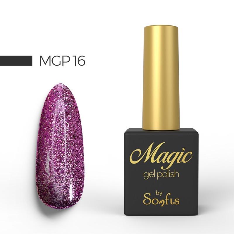 Ημιμόνιμο Βερνίκι MGP16 Magic Gel Polish by Somfis 9ml
