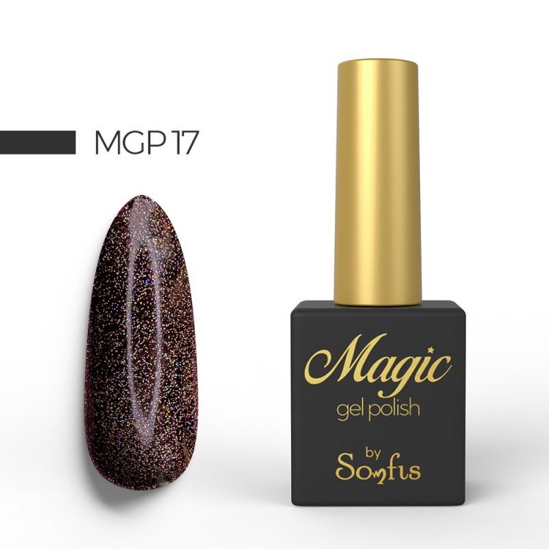 Ημιμόνιμο Βερνίκι MGP17 Magic Gel Polish by Somfis 9ml