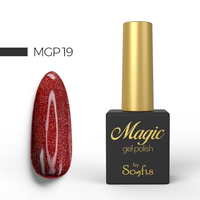 Ημιμόνιμο Βερνίκι MGP19 Magic Gel Polish by Somfis 9ml