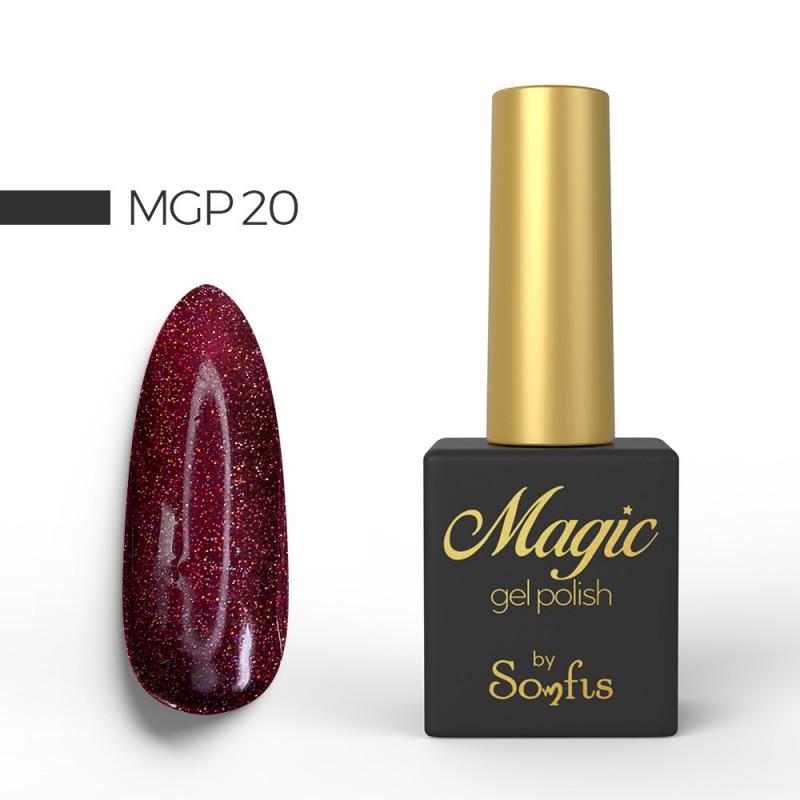 Ημιμόνιμο Βερνίκι MGP20 Magic Gel Polish by Somfis 9ml