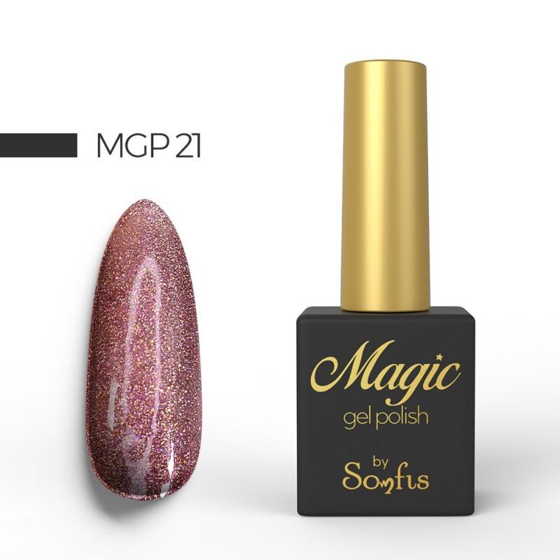 Ημιμόνιμο Βερνίκι MGP21 Magic Gel Polish by Somfis 9ml