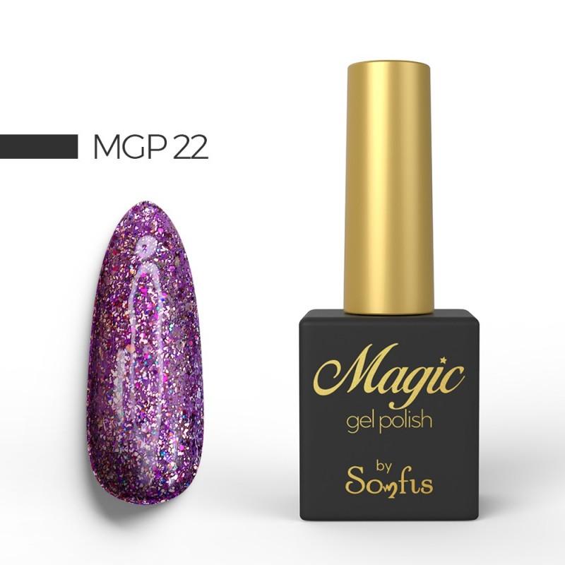 Ημιμόνιμο Βερνίκι MGP22 Magic Gel Polish by Somfis 9ml