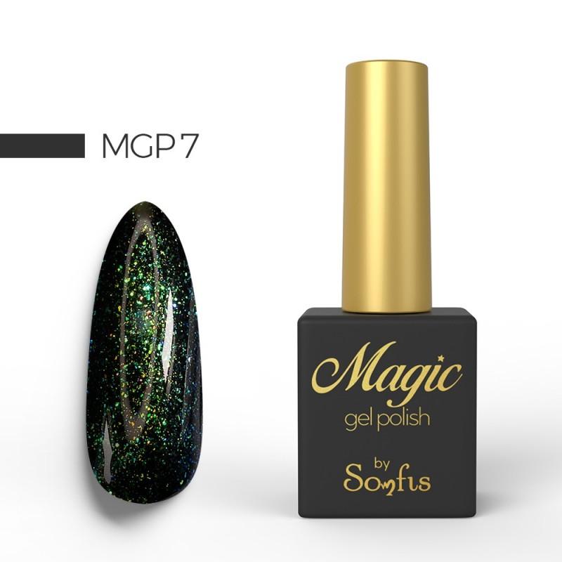 Ημιμόνιμο Βερνίκι MGP7 Magic Gel Polish by Somfis 9ml