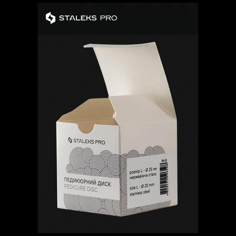 Βάση Από Ανοξείδωτο Ατσάλι Staleks Pro Pedicure Disc L 25mm J.K (300148)