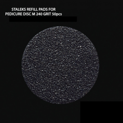 Ανταλλακτικοί Δίσκοι Πεντικιούρ Staleks Refill Pads For Pedicure Disc M 240 50τμχ. J.K (300144)