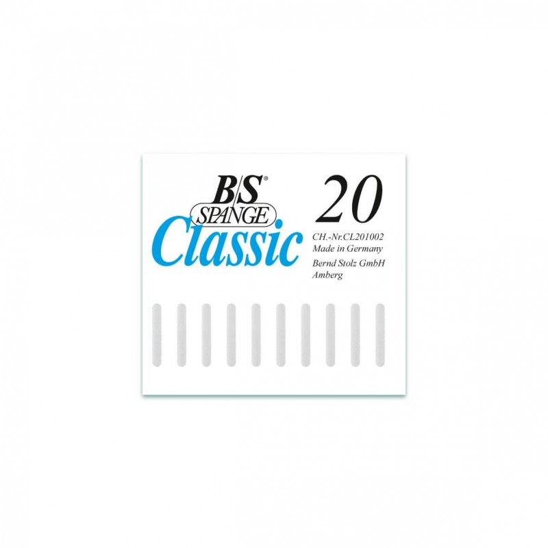 B/S ΝΑΡΘΗΚΑΚΙΑ ΚΛΑΣΙΚΑ No.20 (ΦΑΡΔΟΣ 3mm) 10τμχ.
