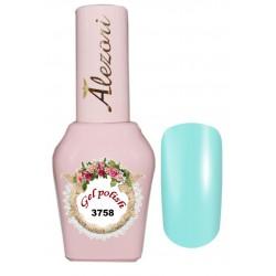 Alezori Gel polish №3758 15ml. ΠΑΣΤΕΛ ΤΗΣ ΜΕΝΤΑΣ. Ημιμόνιμο βερνίκι.