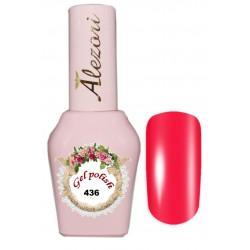 Alezori Gel polish №436 15ml. ΝΕΟΝ Ημιμόνιμο βερνίκι.