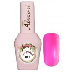 Alezori Gel polish №591 15ml. Ημιμόνιμο βερνίκι.