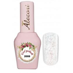 Alezori Gel polish №2008 15ml. GLITTER  ΙΡΙΔΙΖΟΝ. Ημιμόνιμο βερνίκι.