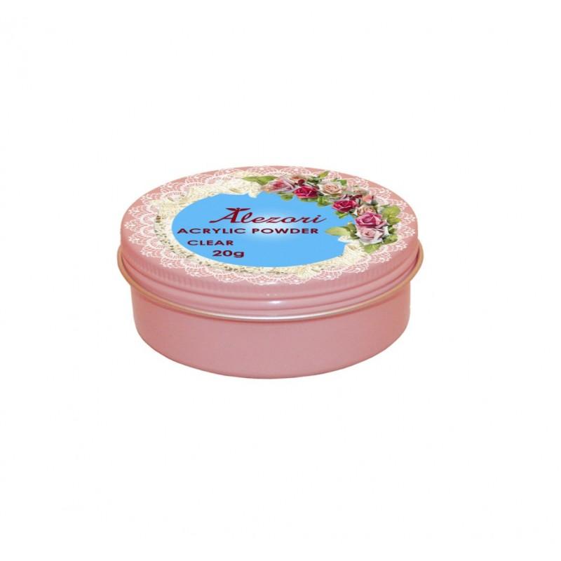 Alezori Ακρυλική Σκόνη Νυχιών ACRYLIC POWDER CLEAR 20gr