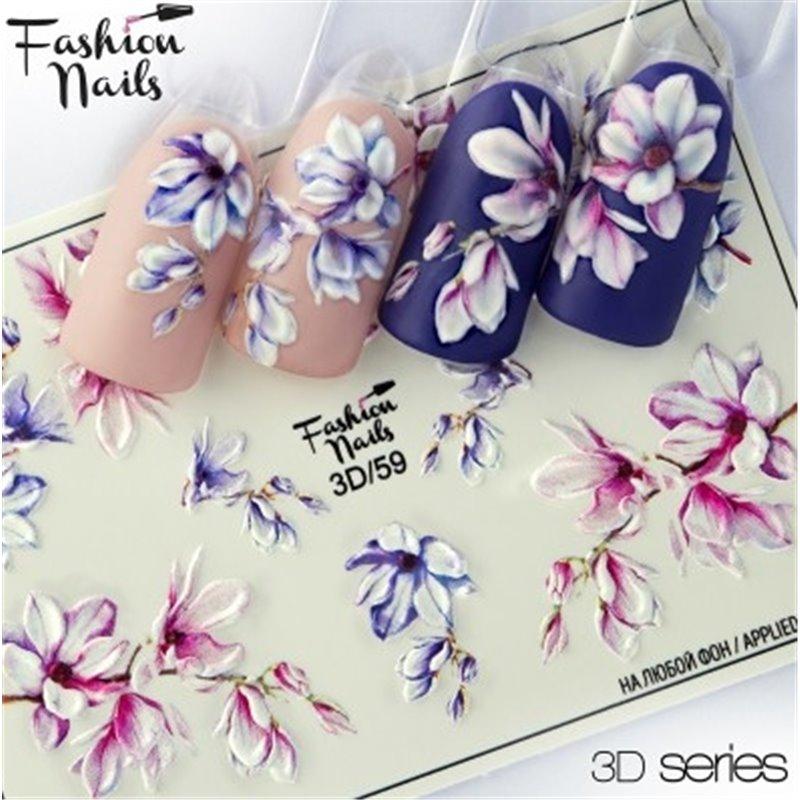 Αυτοκόλλητα Νυχιών J.K Fashion Nails 3D Slider 59  (113955)