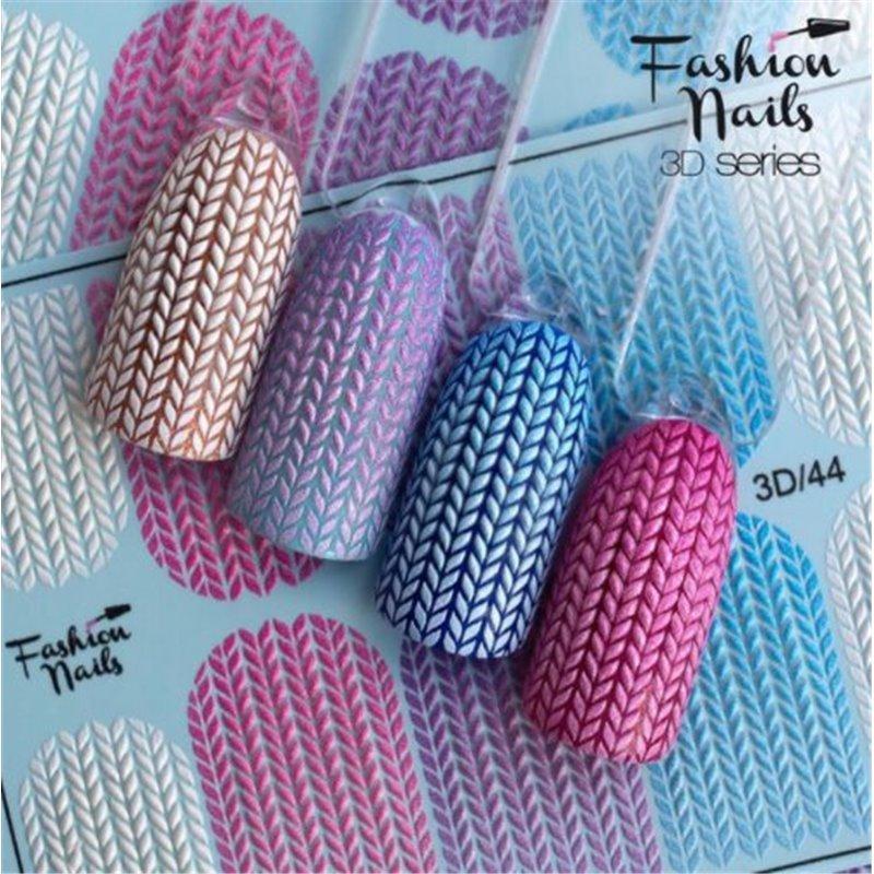 Αυτοκόλλητα Νυχιών J.K Fashion Nails 3D Slider 4 (113657)
