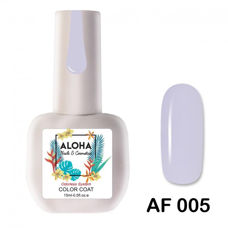 Ημιμόνιμο Βερνίκι-Μανό Aloha AF 005 French Lilac 15ml