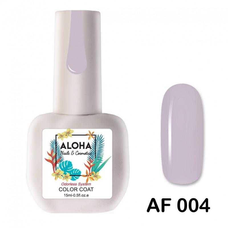 Ημιμόνιμο Βερνίκι Νυχιών-Μανό Aloha AF004 Light Pink Lavender 15ml