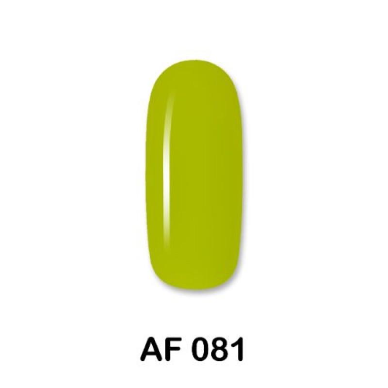 Ημιμόνιμο Βερνίκι Νυχιών-Μανό Aloha AF081 Lime Green 15ml