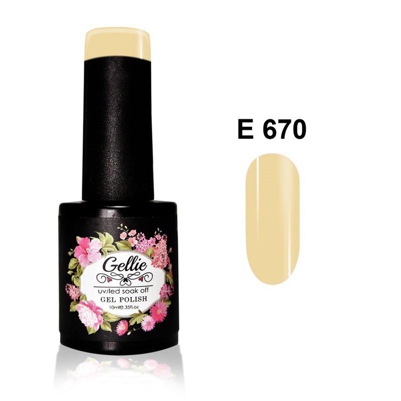 Ημιμόνιμο Βερνίκι Νυχιών- Μανό Gellie E670 10ml