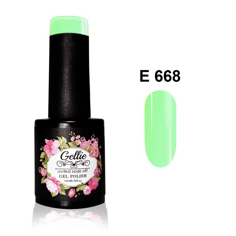 Ημιμόνιμο Βερνίκι Νυχιών- Μανό Gellie E668 10ml