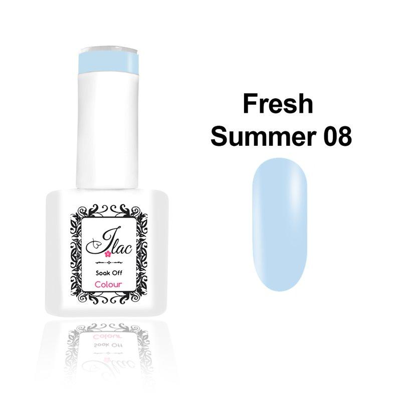 Ημιμόνιμο Βερνίκι Νυχιών - Μανό JLAC Summer Fresh 08 15ml
