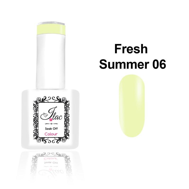 Ημιμόνιμο Βερνίκι Νυχιών - Μανό JLAC Summer Fresh 06 15ml