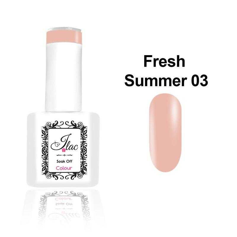Ημιμόνιμο Βερνίκι Νυχιών - Μανό JLAC Summer Fresh 03 15ml