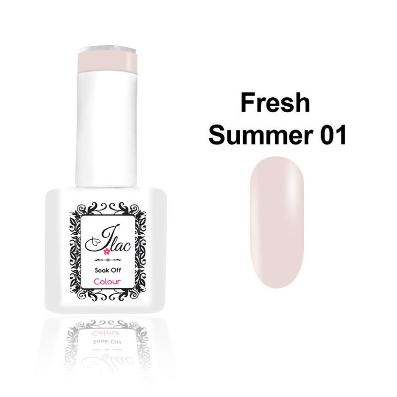 Ημιμόνιμο Βερνίκι Νυχιών- Μανό JLAC Summer Fresh 01 15ml