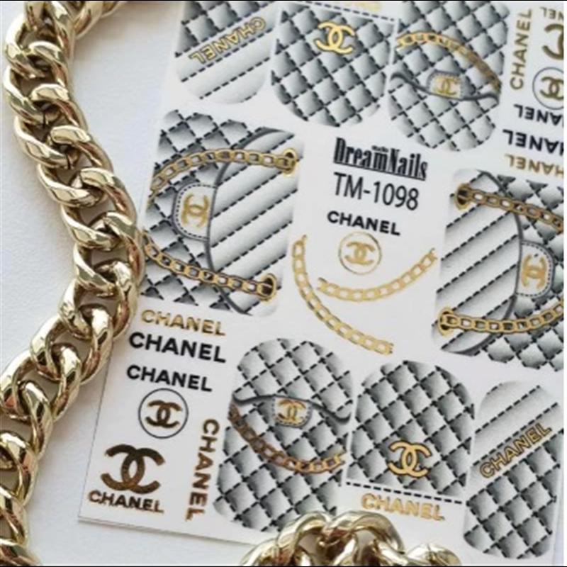 Αυτοκόλλητα Νυχιών J.K Dream Nails TM & F 1098 Gold (114426)