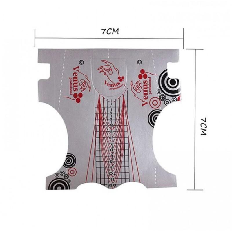 Glo Αυτοκόλλητες Φόρμες 100τμχ  GL-55203