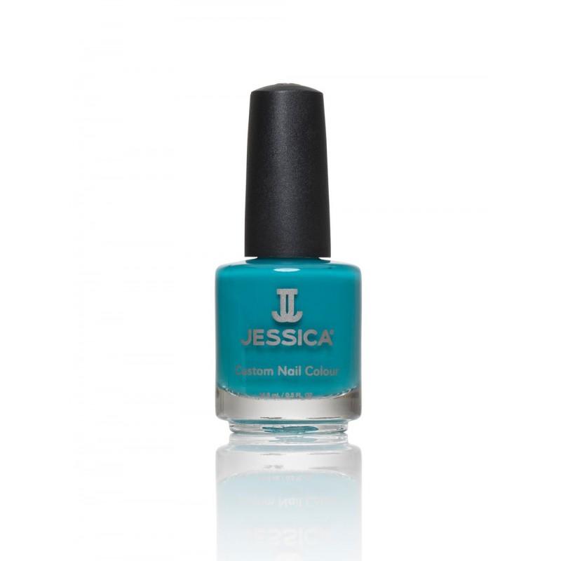 Βερνίκι Νυχιών Απλό - Μανό Jessica FauX Fur Blue 1100 15ml