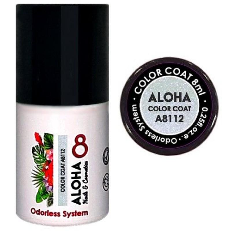 Ημιμόνιμο βερνίκι Aloha Color Coat A8112 Chameleon Effect – Light Mauve 8ml