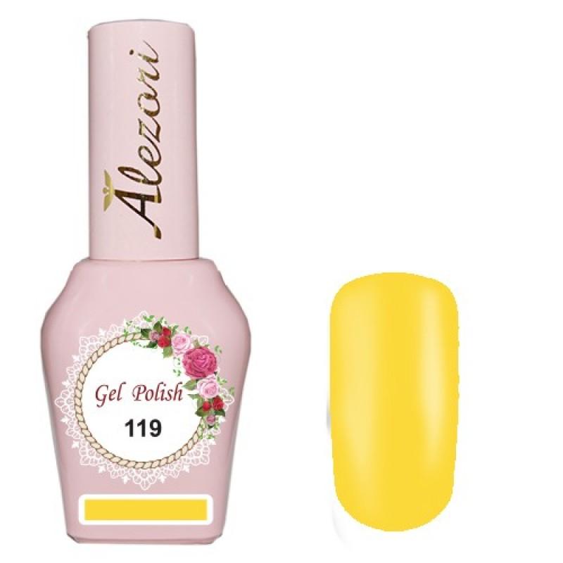 Ημιμόνιμο βερνίκι Νυχιών  Alezori Gel polish №119 15ml.
