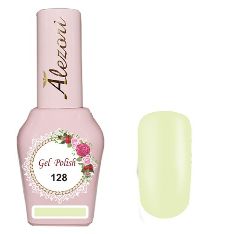 Ημιμόνιμο βερνίκι Νυχιών  Alezori Gel polish №128 15ml.