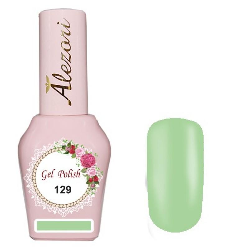 Ημιμόνιμο βερνίκι Νυχιών  Alezori Gel polish №129  15ml.