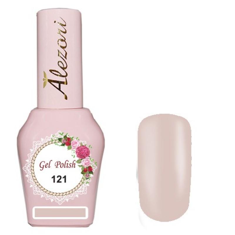 Ημιμόνιμο βερνίκι Νυχιών  Alezori Gel polish №121 15ml.