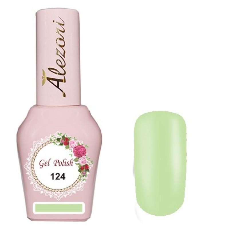 Ημιμόνιμο βερνίκι Νυχιών  Alezori Gel polish №124 15ml.