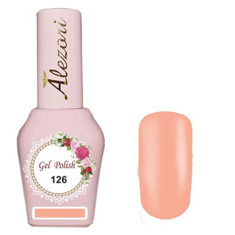 Ημιμόνιμο βερνίκι Νυχιών  Alezori Gel polish №126 15ml.