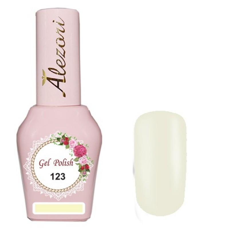 Ημιμόνιμο βερνίκι Νυχιών  Alezori Gel polish №123 15ml.