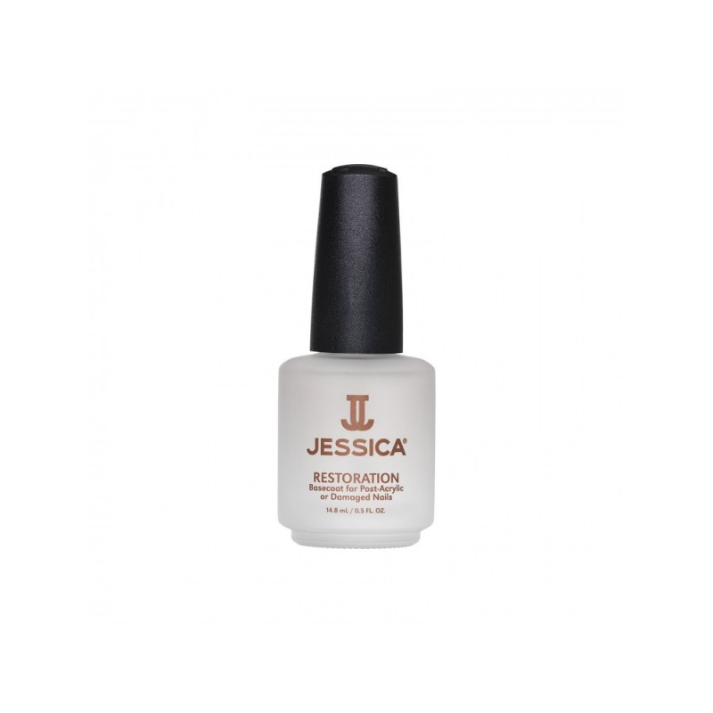 Jessica Restoration - Bace Coat For Post-Acrylic Or Damaged Nails 14.8ml