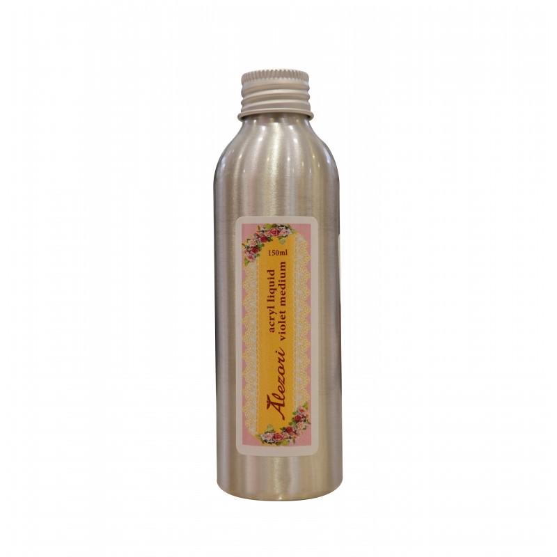 "Alezori Ακρυλικό Υγρό Νυχιών Acrylic Liquid ""Violet Medium""(speed) 150ml"