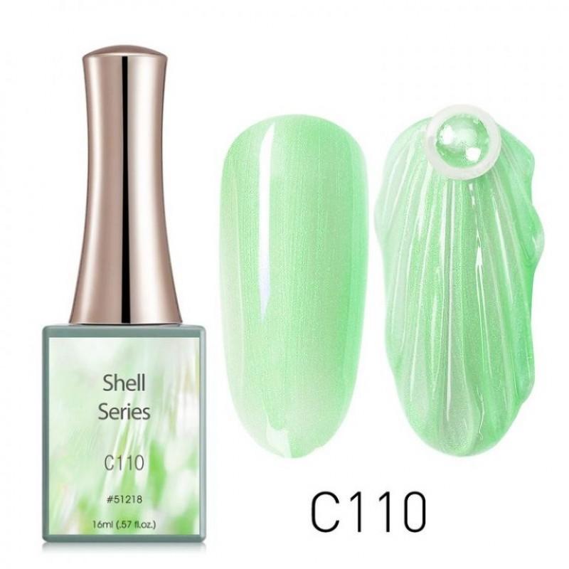 Ημιμόνιμο Βερνίκι Νυχιών - Μανό Canni Shell – C110 16ml