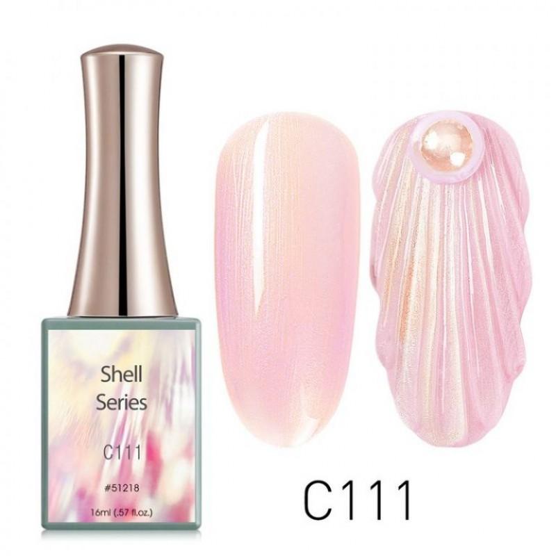 Ημιμόνιμο Βερνίκι Νυχιών - Μανό Canni Shell – C111 16ml