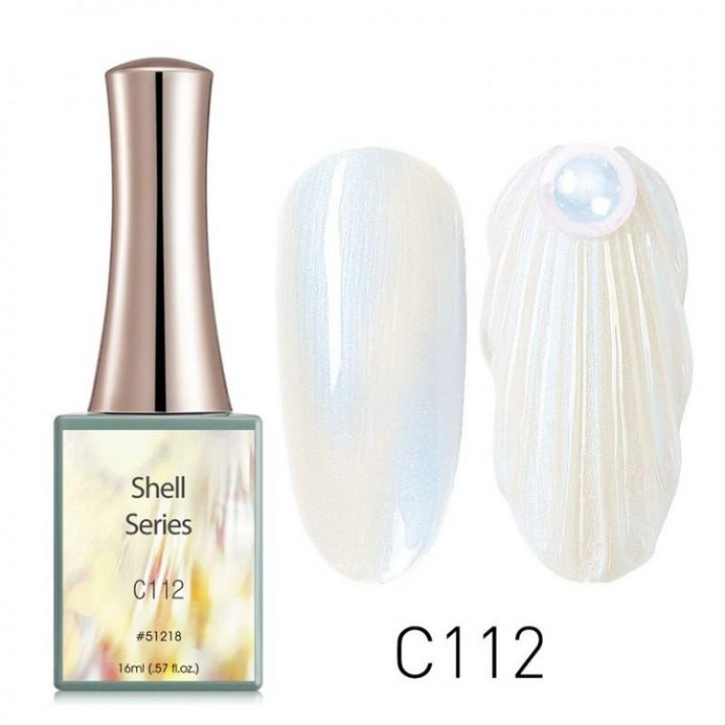 Ημιμόνιμο Βερνίκι Νυχιών - Μανό Canni Shell – C112 16ml