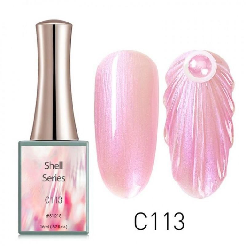 Ημιμόνιμο Βερνίκι Νυχιών - Μανό Canni Shell – C113 16ml