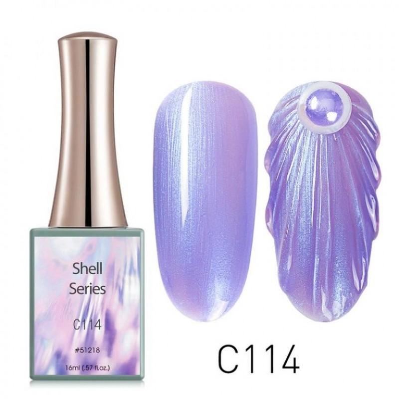 Ημιμόνιμο Βερνίκι Νυχιών - Μανό Canni Shell – C114 16ml