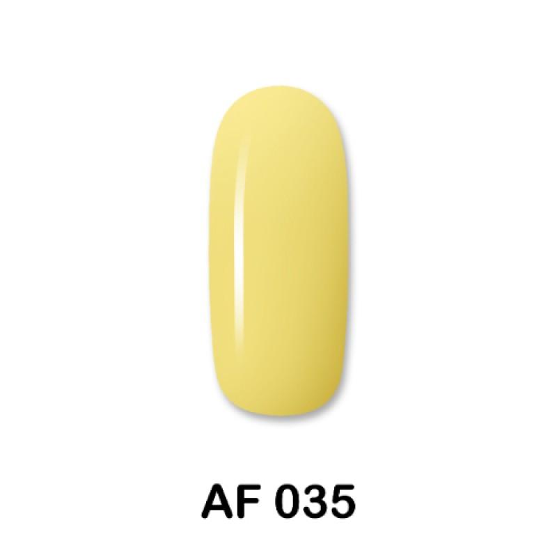 Ημιμόνιμο Βερνίκι Νυχιών - Μανό Aloha AF035 Κίτρινο 15ml