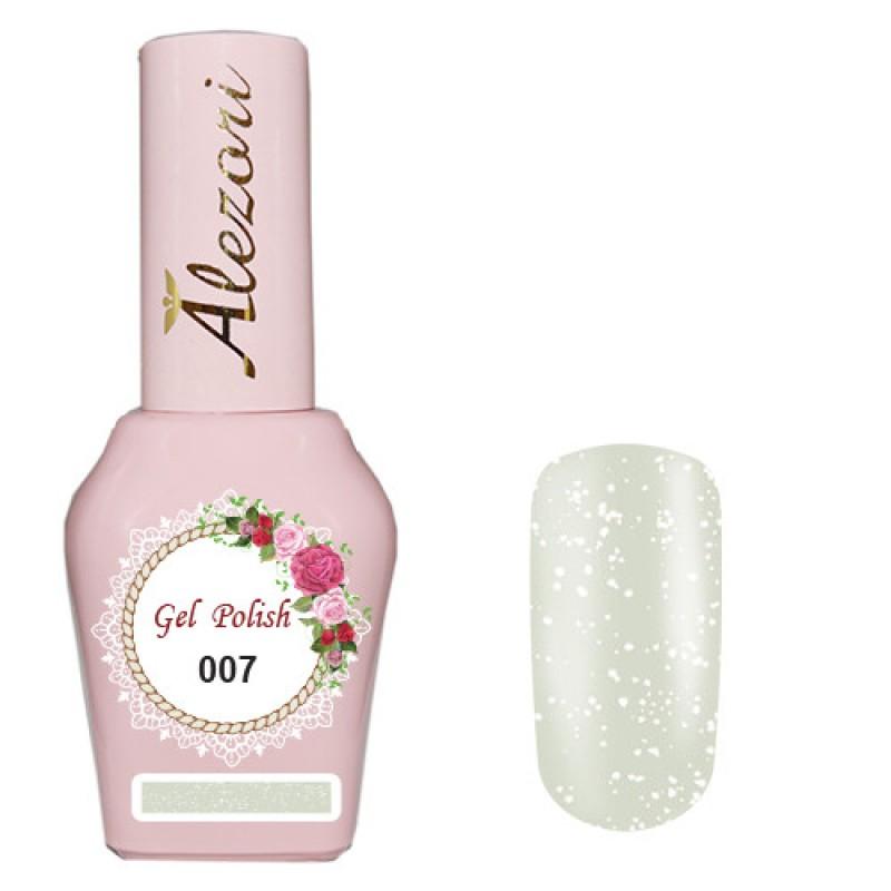 Ημιμόνιμο βερνίκι Νυχιών- Μανό Alezori Gel polish № 007 Περλέ Λευκό 15ml