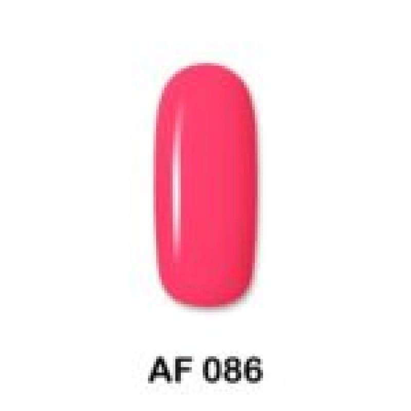 Ημιμόνιμο Βερνίκι Νυχιών - Μανό Aloha AF 086 Neon Rose 15ml