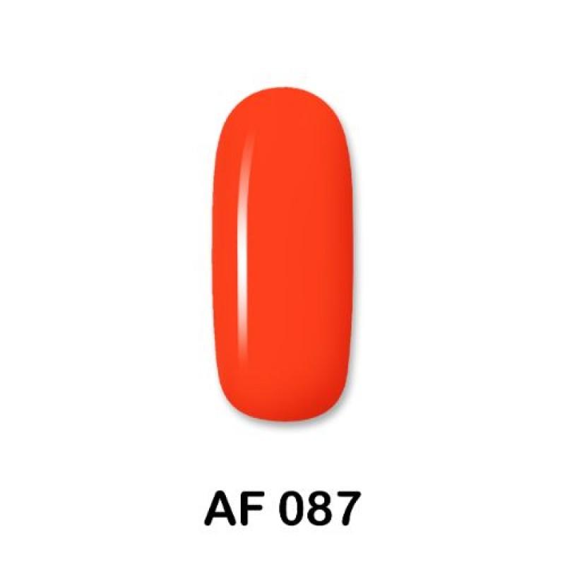 Ημιμόνιμο Βερνίκι Νυχιών - Μανό Aloha AF 087 Neon Orange Red 15ml